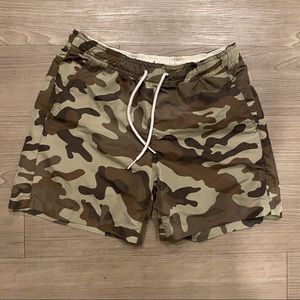 Diesel Men's Camo Swim Trunks